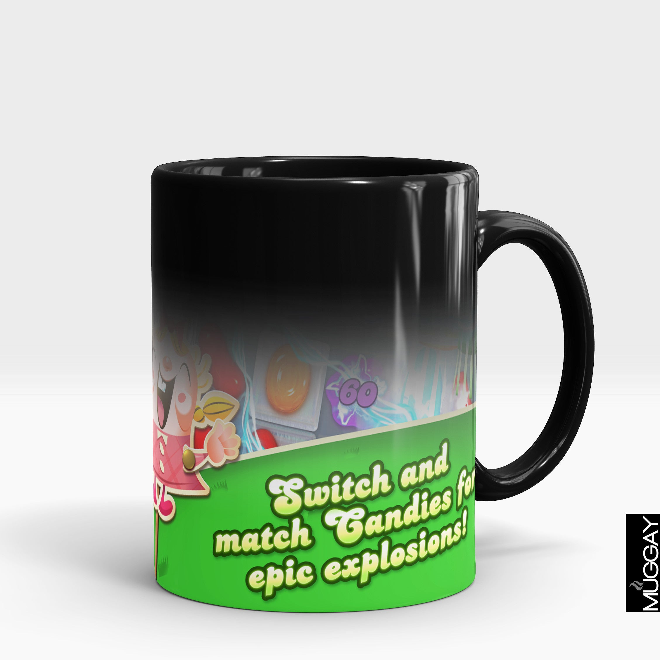 Candy crush Design candy1 - Muggay.com - Mugs - Printing shop - truck Art mugs - Mug printing - Customized printing - Digital printing - Muggay