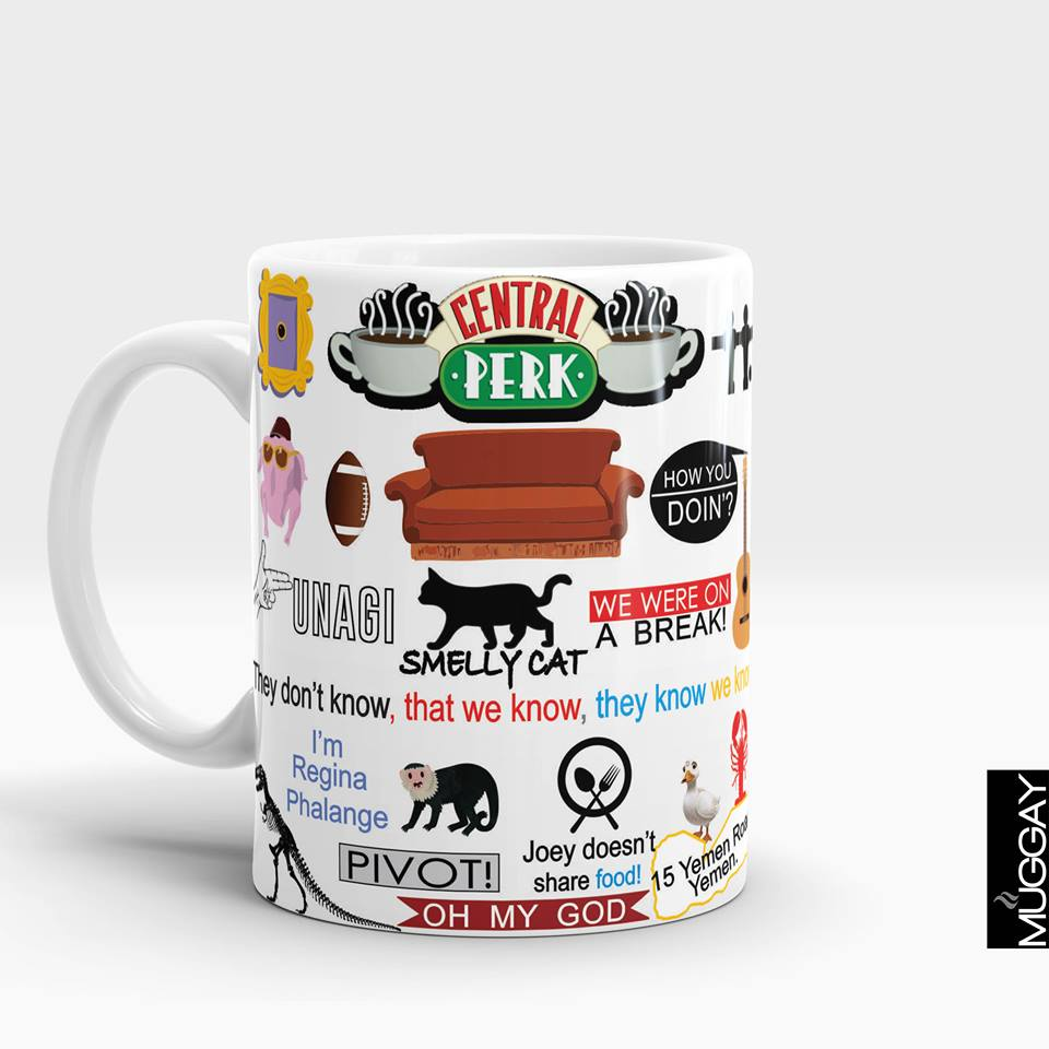 Friends Season Mugs white --04