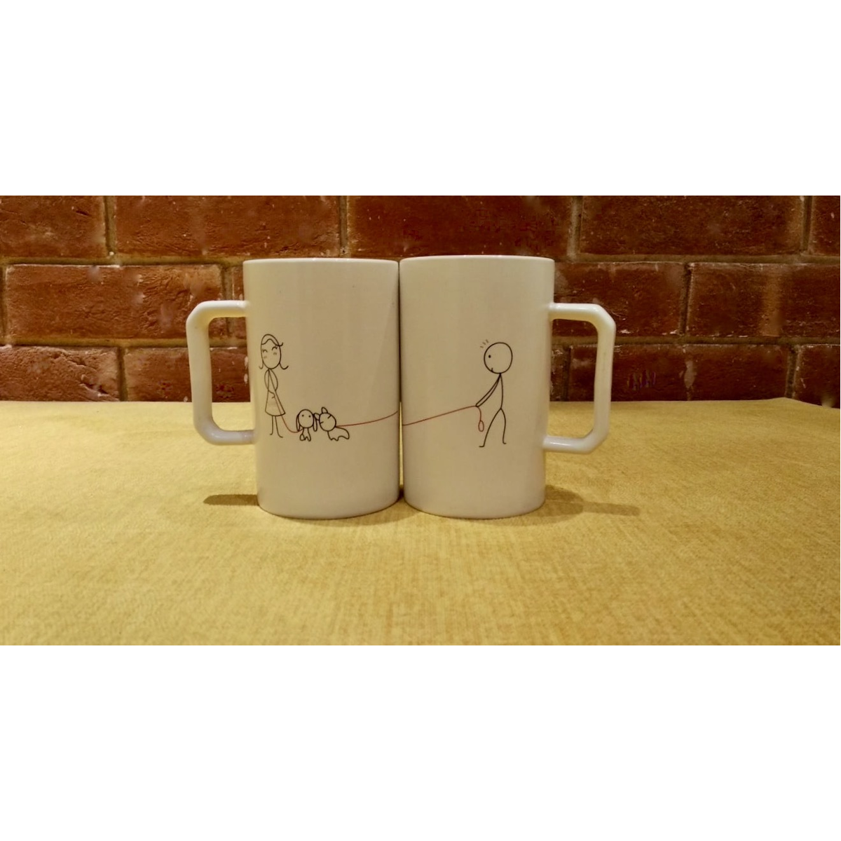 Couple Mugs Tall