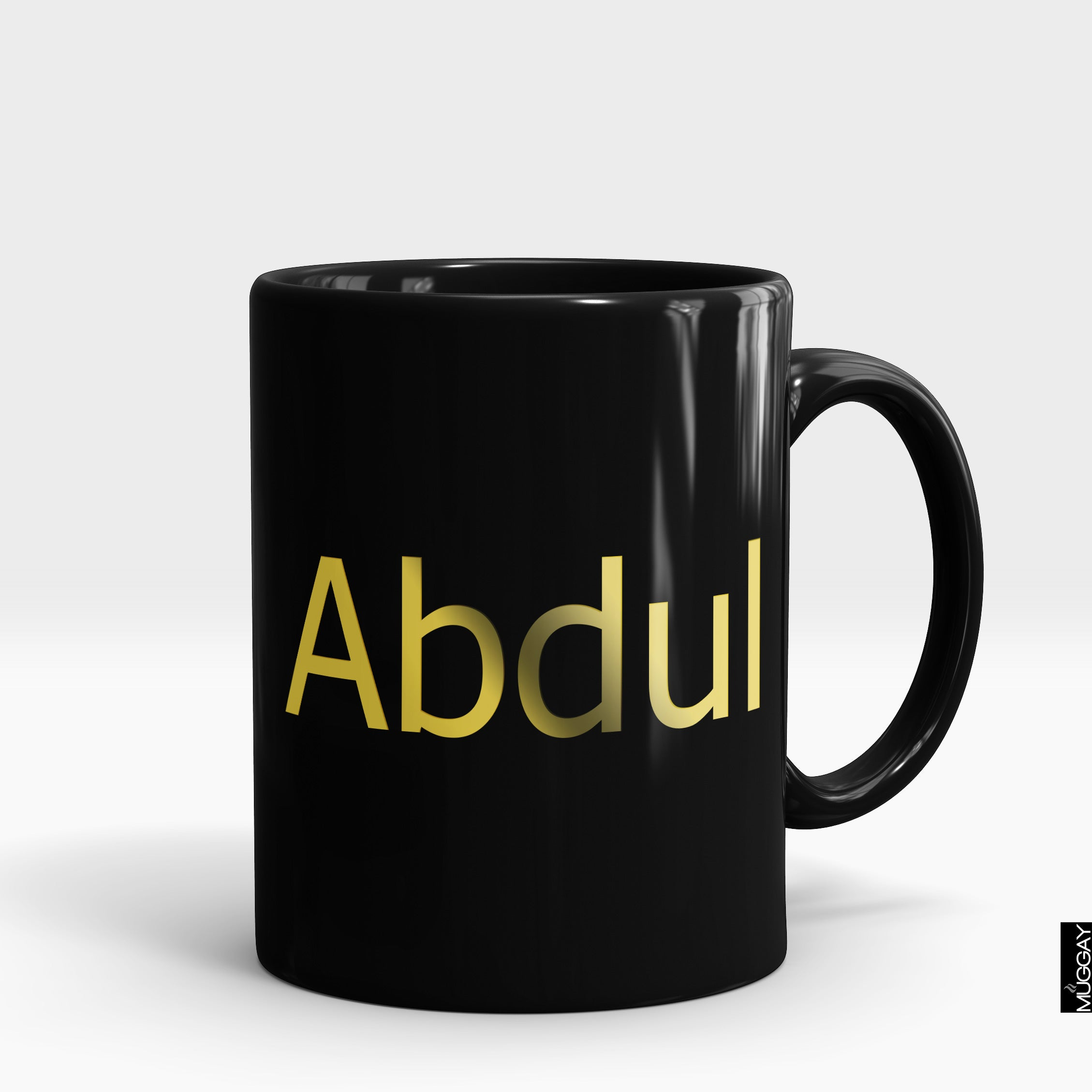 Gold Mugs with Name