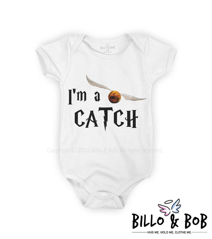 'I'm A Catch' Baby Romper