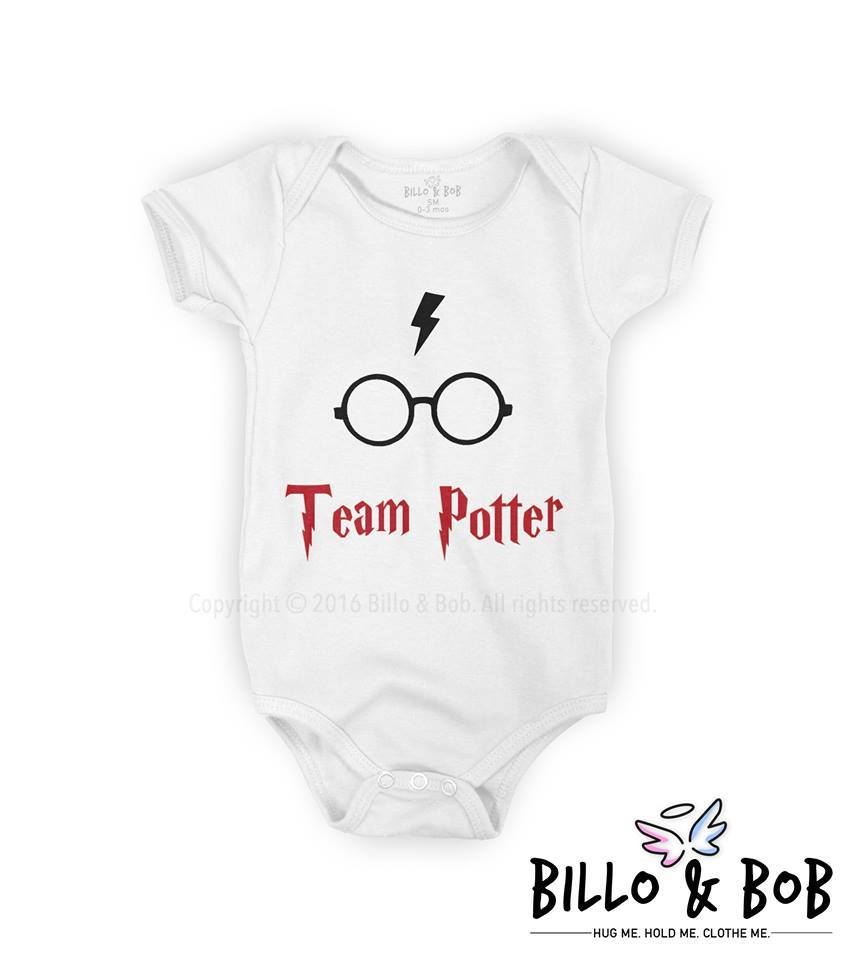 'Team Potter' Baby Romper