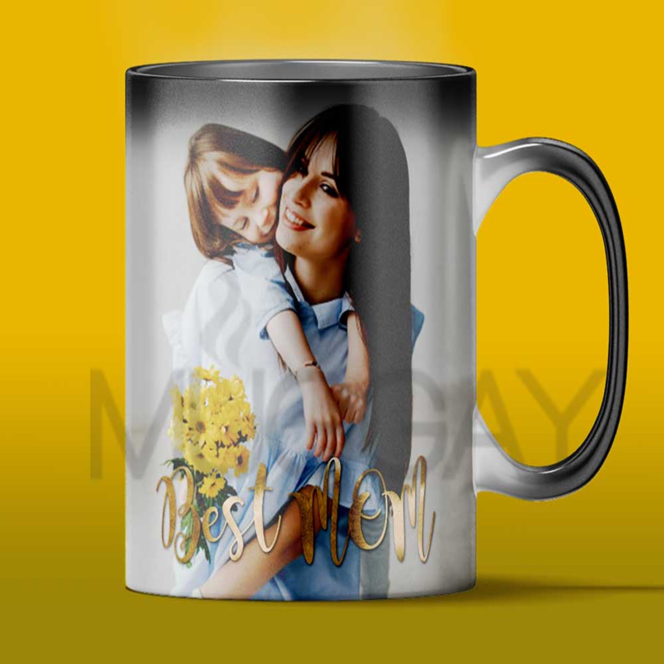 Best Mom - Magic mug - Add your picture