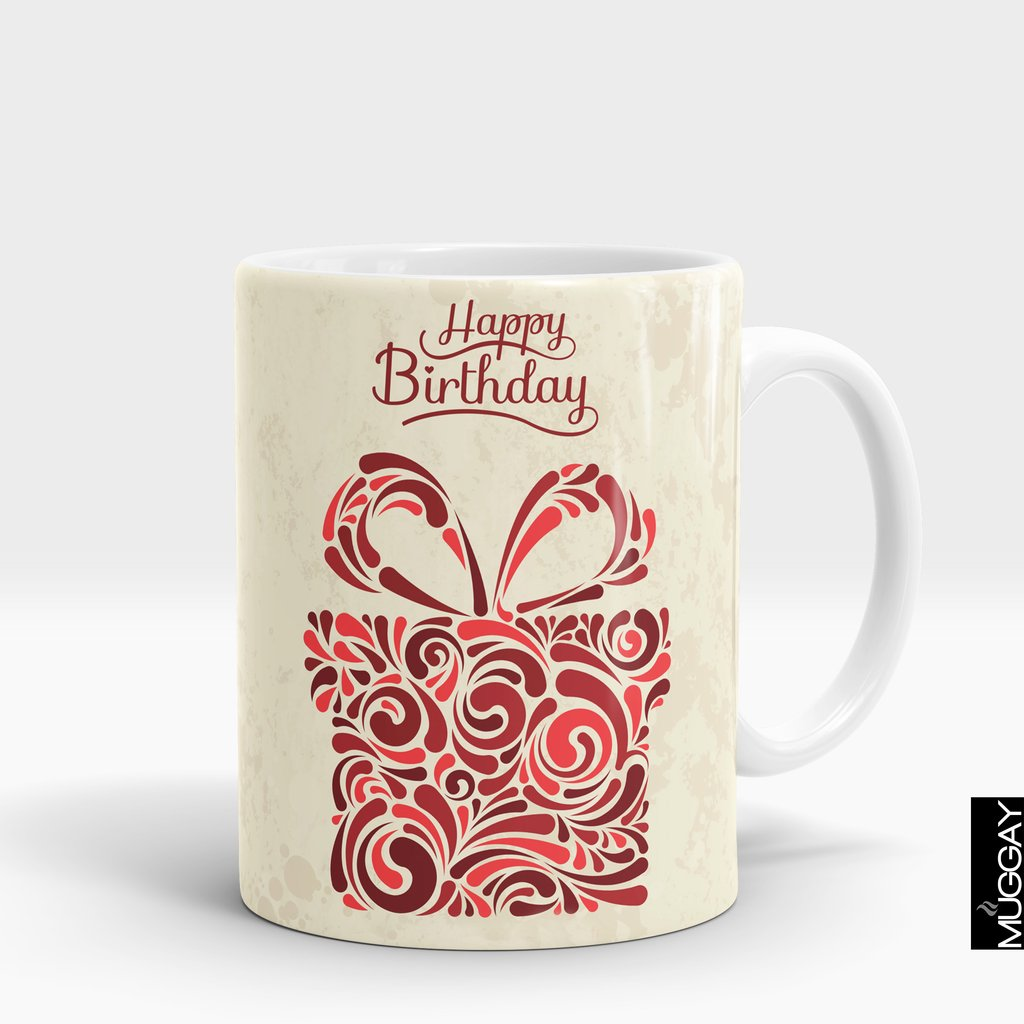 'Happy Birthday Gift' Mug