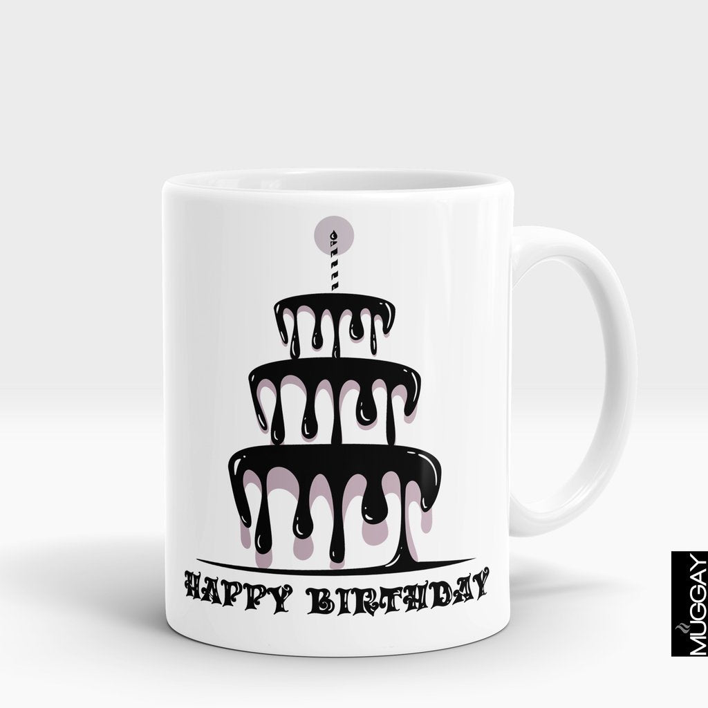 'Happy Birthday Cake' Mug