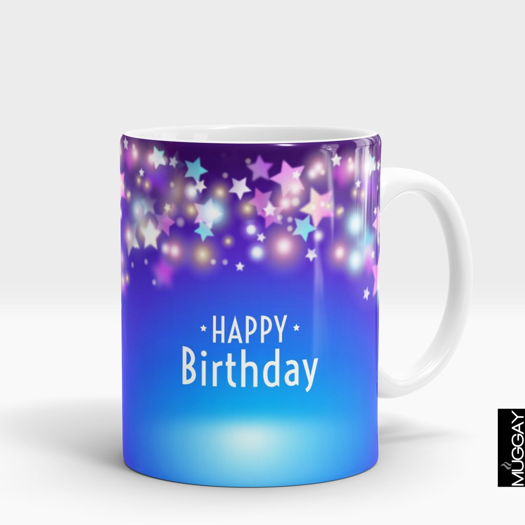'Happy Birthday Star' Mug