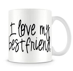 Love best friend dost mug