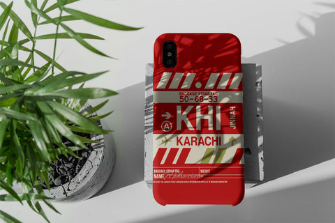 Mobile Covers - Airport tag KARACHI