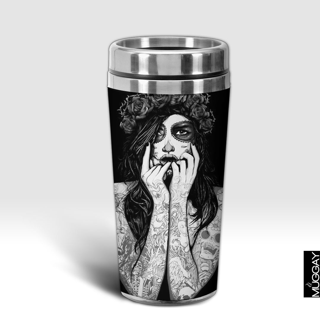 Black and White Girl Photo Design Trug - Muggay.com - Mugs - Printing shop - truck Art mugs - Mug printing - Customized printing - Digital printing - Muggay