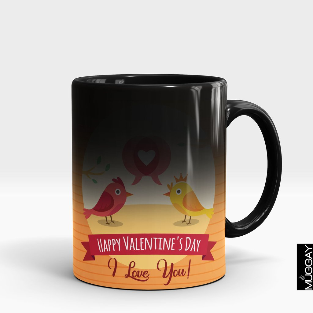 'I Love You Birds' Valentine's Mug