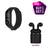 Xiaomi Mi Band 3 + i7s Mini Wireless  Earphones - urbehoof