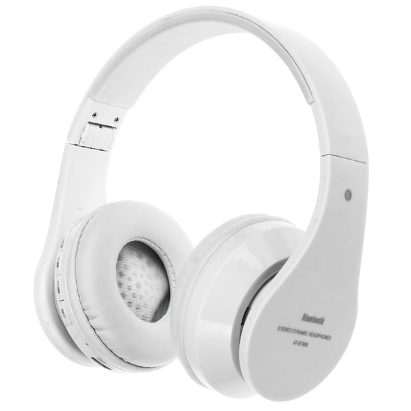 AT-BT809 Bluetooth Foldable Stereo Headphones with Mic Support - urbehoof