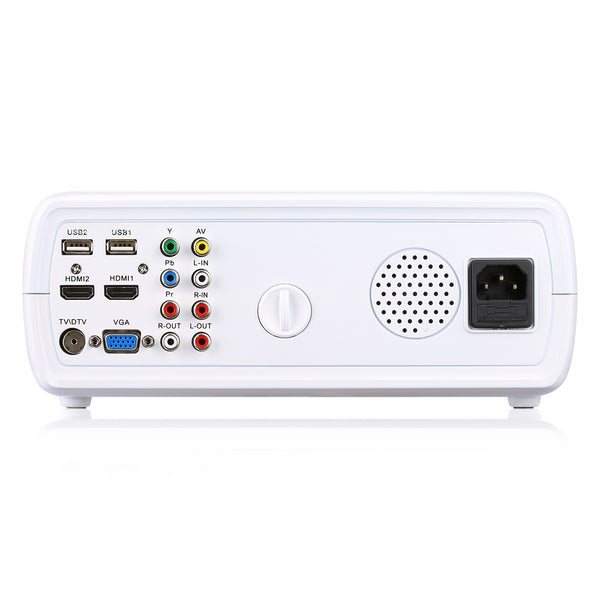 Excelvan BL23(EHD11) 2600 Lumens Home Projector Portable Mini LED HD Projector - urbehoof