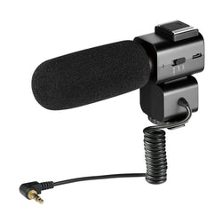 CRAPHY Microphone for Camera Recording Video Interview CM-520