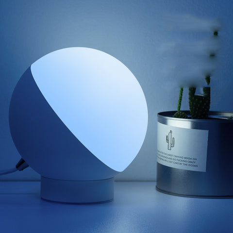 Smart WiFi Voice Control Round Shape LED Table Lamp - urbehoof