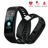 Y5 Smart Bracelet Color Screen Heart Rate Blood Pressure Monitoring Sports Watch - urbehoof