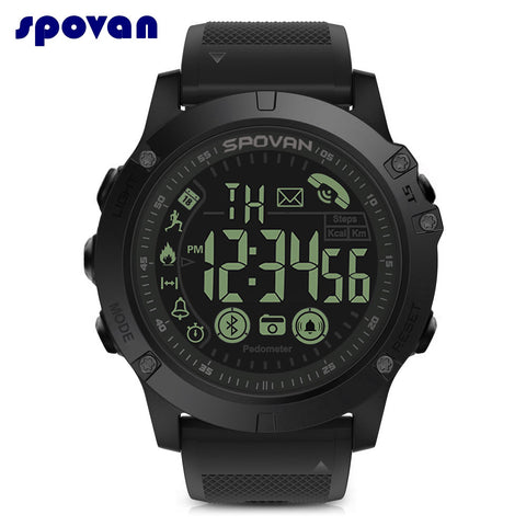 Spovan PR1-2 Bluetooth Smart Pedometer Calorie Monitoring Putdoor Sports Wristband - urbehoof