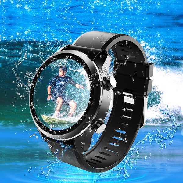 Kospet Brave 4G Smartwatch Phone 2GB RAM 16GB ROM IP68 Waterproof Heart Rate Monitor - urbehoof