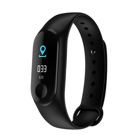 M3PLUS 0.96-inch Bluetooth 4.0 Sports Smart Bracelet - urbehoof