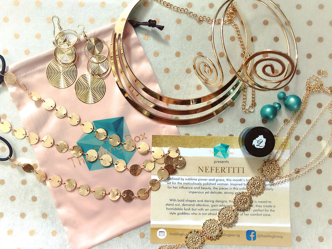 The AUGUST Bling Box - NEFERTITI