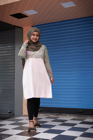 Ruqsar Cherry Blossom Dress