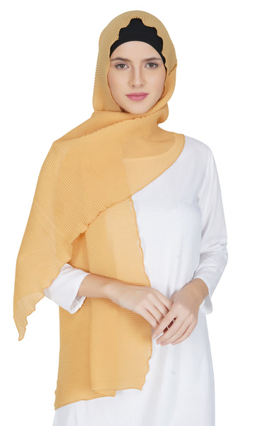 Ruqsar Honey Gold Stole
