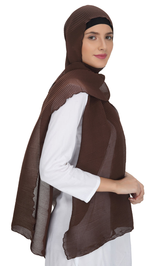 Ruqsar Chocolate Latte Stole