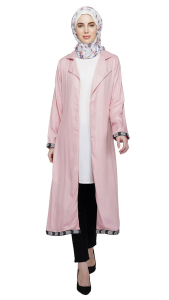 Blushing Bohemian Coat By Ruqsar