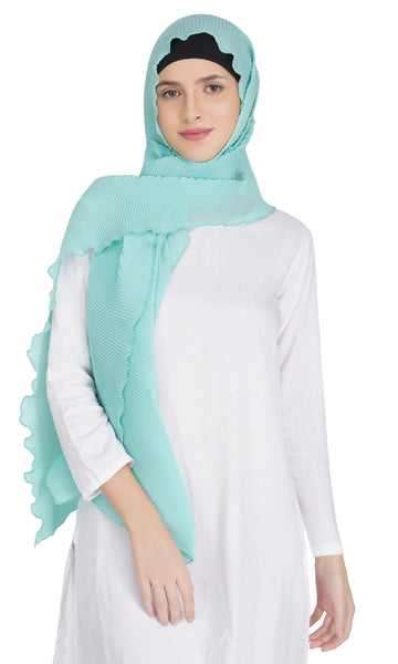 Ruqsar Simply Turquoise Stole