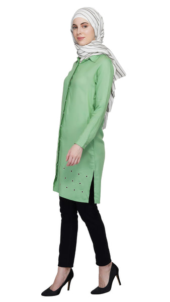 Go Green Tunic By Ruqsar