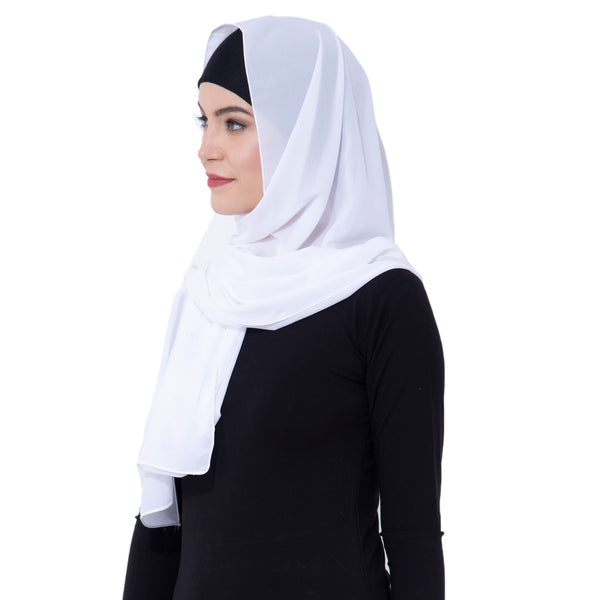 Ruqsar Enchanted snow Headscarf