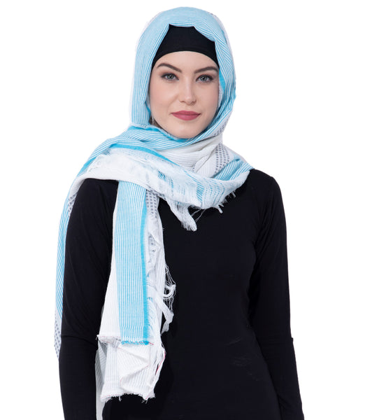 Ruqsar Tassels of life Head Scarf