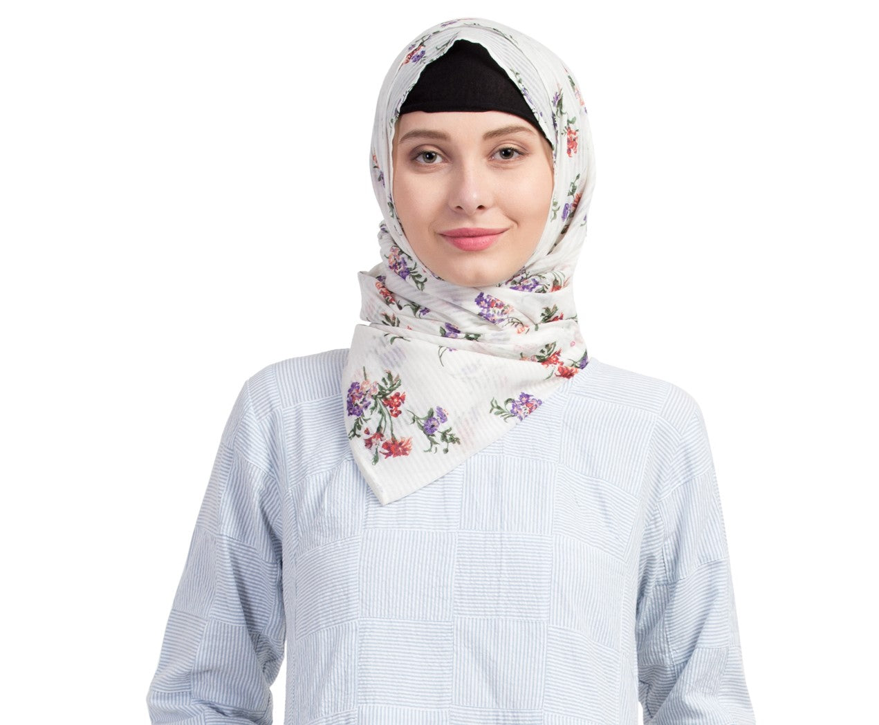Ruqsar Floral Escape Headscarf