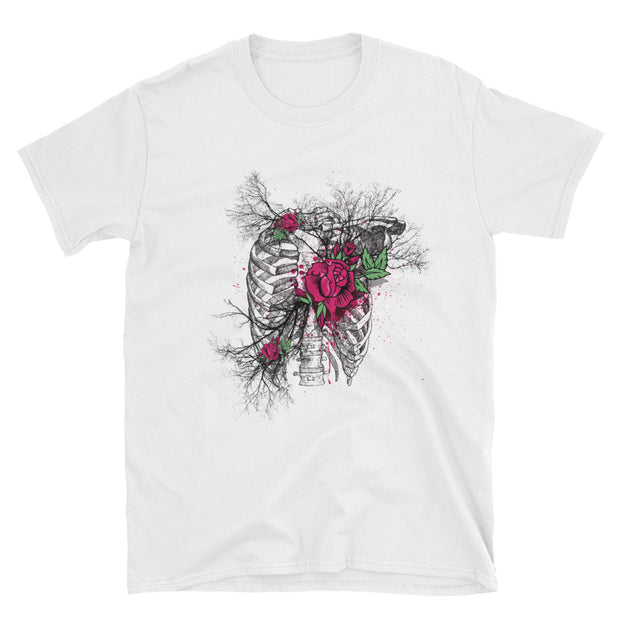 Heart of Rose Short-Sleeve T-Shirt