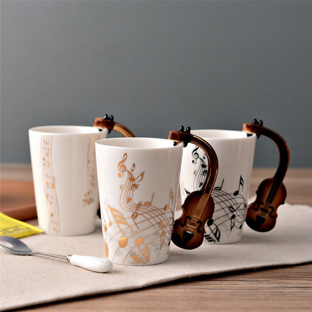 Eco-friendly Jazz Themed Mugs