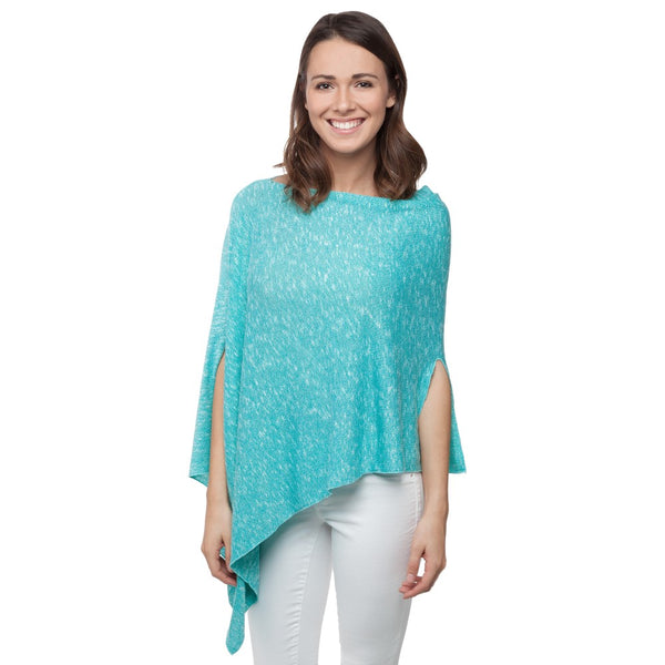 Lightweight Sweater Knit Poncho (Available in 2 Colors)