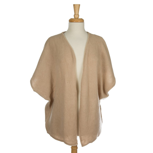 Soft, Knit Kimono with Bow Back