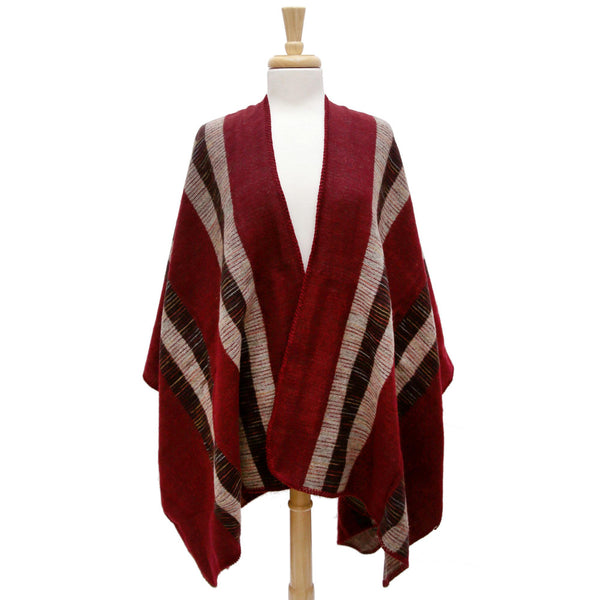 Knit Shawl/Cape (Available in 3 Colors)