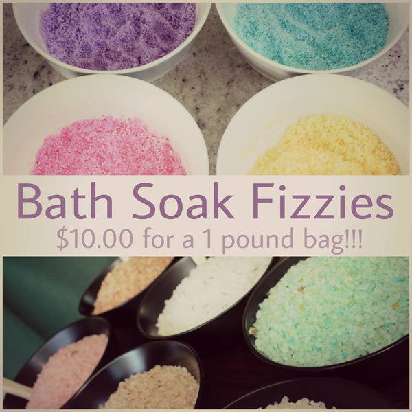Bath Soak Fizzies
