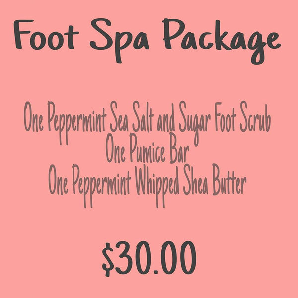 Foot Spa Package