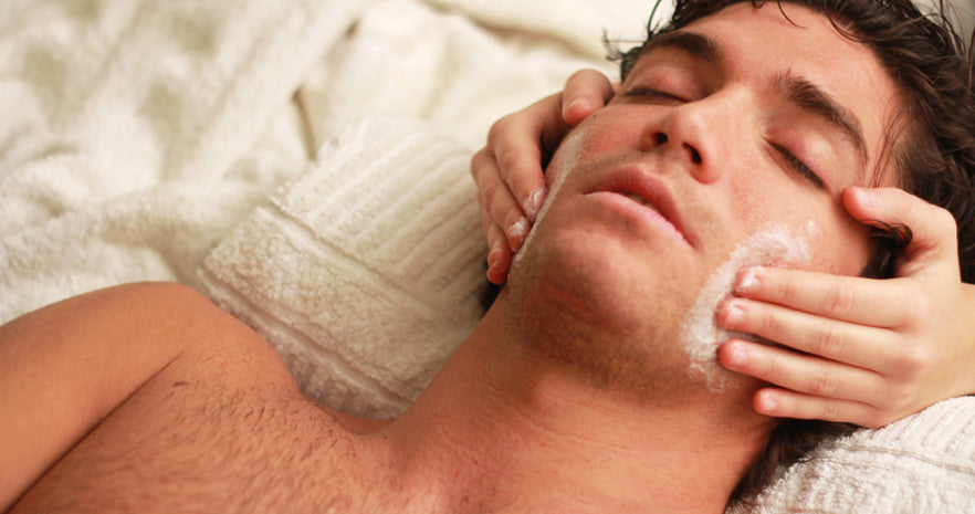 Why men should really get facials.