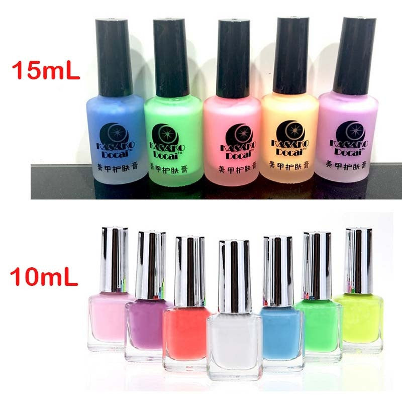 15ml Peel Off Liquid Tape & Peel Off Base Coat Nail Art Liquid ...