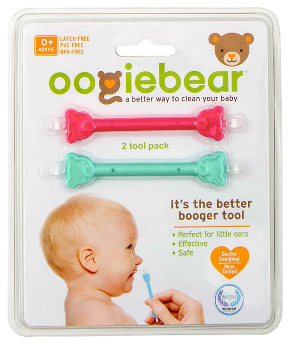 Oogiebear Two Pack Raspberry – Sea Foam