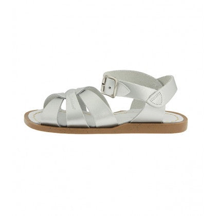 INFANT SALT WATER SANDALS - SILVER