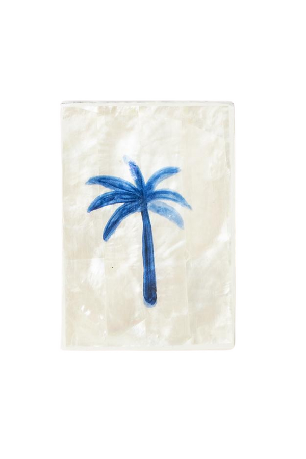 Ahoy Trader Blue Palm Mini Tile Shell Loft Image