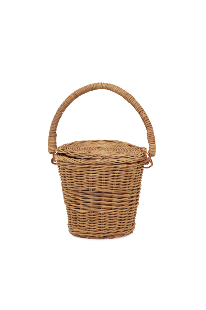 Olli Ella Apple Basket Small Closed Loft Lifestyle Store Image
