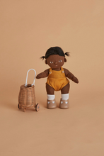 OLLI ELLA DINKUM DOLL LUGGY PULL ALONG BASKET TINY