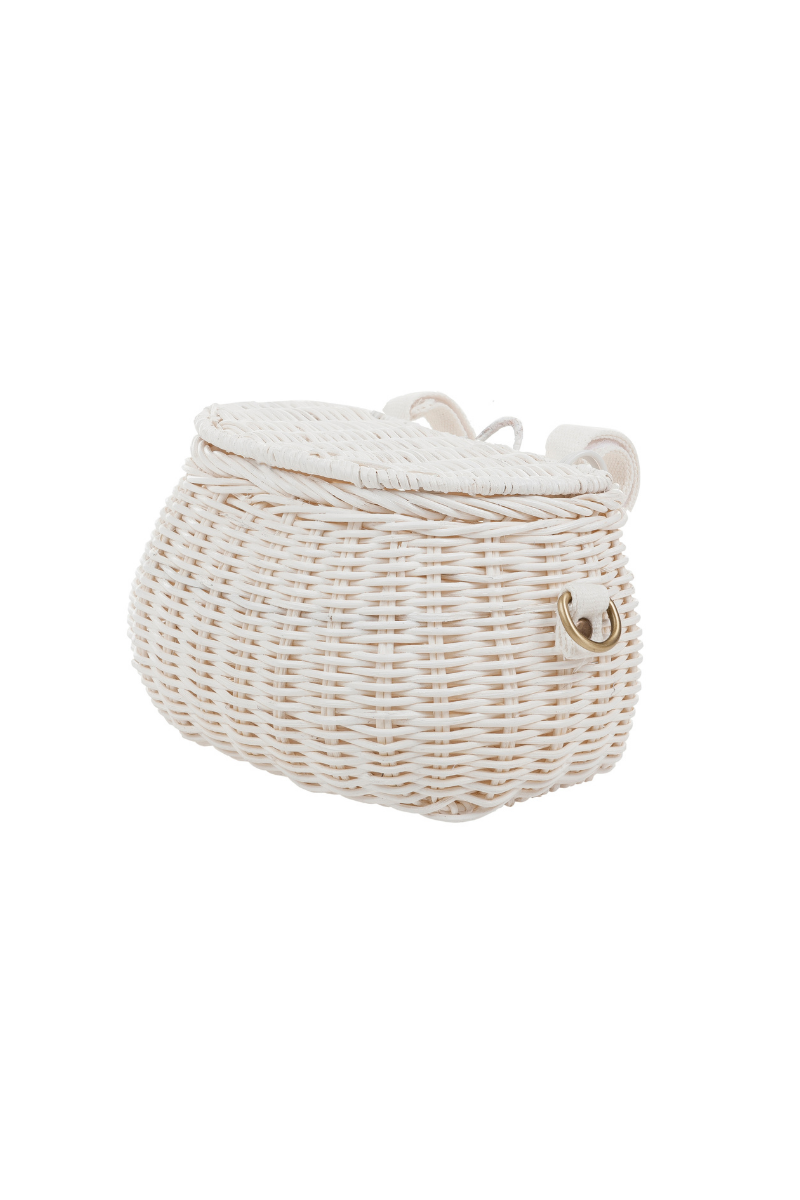 Olli Ella Mini Chari Bag White Side Image Loft