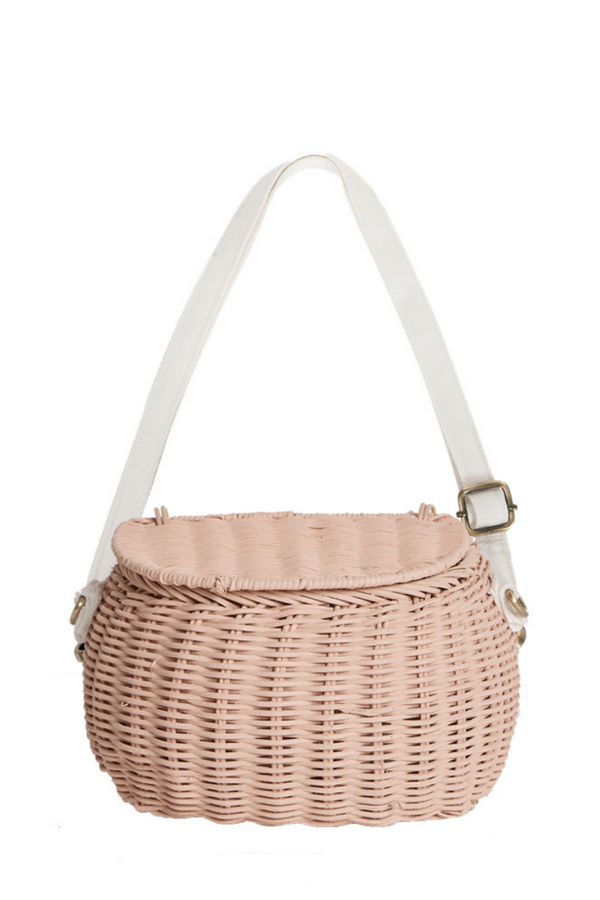 Olli Ella Mini Chari Rose Bag Front Loft Lifestyle Image