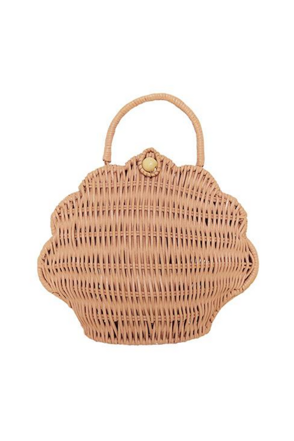 Olli Ella Shell Bag Purse Rose Loft Front Image